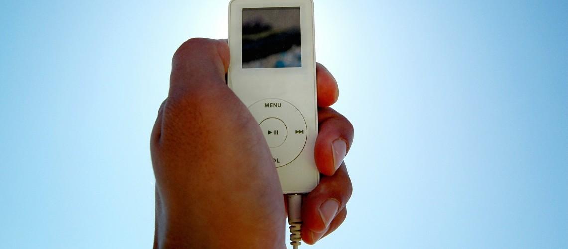 Apple Music auf dem iPod (Image 393943 [CC0 Public Domain], via Pixabay)