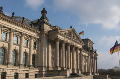 Bundestag (adapted) (Image by Thomas Quine [CC BY 2.0] via Flickr)
