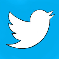 Twitter Bird Logo Sketch, New (adapted) by Shawn Campbell (CC BY 2.0) via Flickr