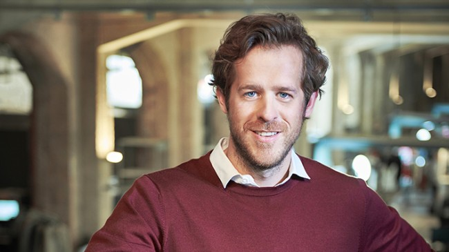 Portraits vom Zalando Vorstand Robert Gentz, im Auftrag von Zalando – Corporate Communications.