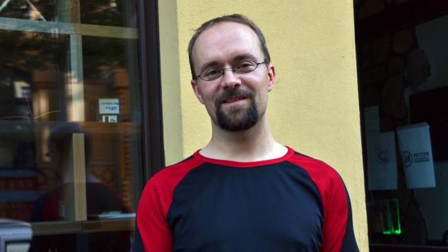 Alexander Dahl will mit einer Online-Petition eine Debatte über die künftige digitale Bildungslandschaft in Sachsen-Anhalt befördern. (Bild: M. Ganske-Zapf)