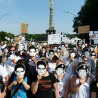 Berliner PRISM-Demo 2013 (Teaser: Mike Herbst [CC BY-SA 2.0], via Flickr)