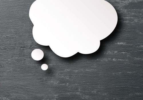 Gedanke (adapted) (Image by stux [CC0 Public Domain] via Pixabay)