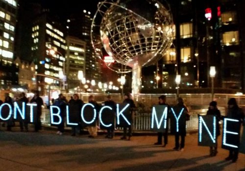 NYC Rolling Rebellion Advocates for Net Neutrality and Takes on TPP & Fast Track (adapted) (Image by Backbone Campaign [CC BY 2.0] via Flickr)