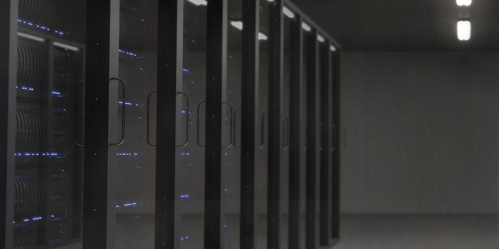Server (adapted) (Image by NeuPaddy [CC0 Public Domain] via Pixabay)