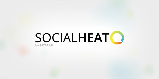 Logo von SocialHeat (Image: 247GRAD)