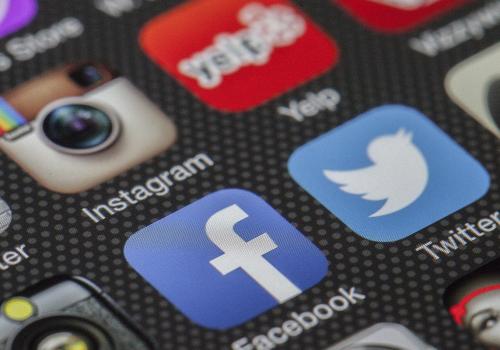 Twitter Facebook (adapted) (Image by LoboStudioHamburg [CC0 Public Domain] via Pixabay)
