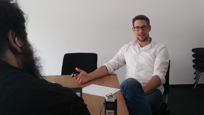 Interview mit Johannes Ellenberg von Accelerate Stuttgart (Image: Katharina-Franziska Kremkau/Netzpiloten, CC BY 4.0)