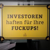 Investoren haften für ihre Fuckups (Image: Katharina-Franziska Kremkau/Netzpiloten, CC BY 4.0)