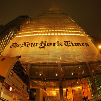 New York Times Building, NYC (Image by Torrenegra [CC BY 2.0] via Flickr)