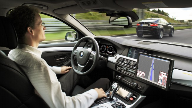 Selfdriving Car (Image: BMW)