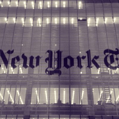 The New York Times (adapted) (Image by Alec Perkins [CC BY 2.0] via Flickr)