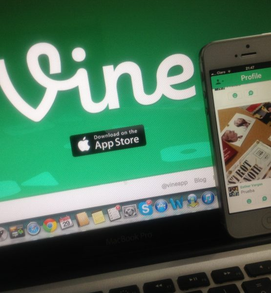 Vine, Twitter (adapted) (Image by Esther Vargas [CC BY-SA 2.0] via Flickr)