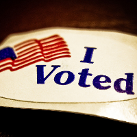 I Voted! (Image by Vox Efx [CC BY 2.0] via Flickr)