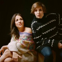 Lenny-Gründerinnen Jenni Konner und Lena Dunham