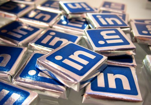Linkedin Chocolates (adapted) (Image by Nan Palmero [CC BY 2.0] via Flickr)