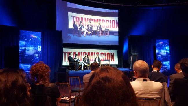 Podium auf der MediaCon 2015 (Image: Rainer Kiebat/Netzpiloten)