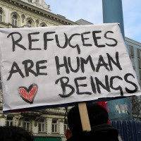 Refugees (Image: Haeferl [CC BY-SA 3.0], via Wikimedia Commons)