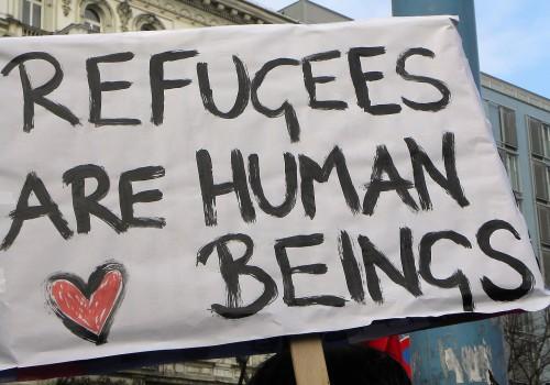 Refugees (image by Haeferl [CC BY-SA 3.0] via Wikimedia)