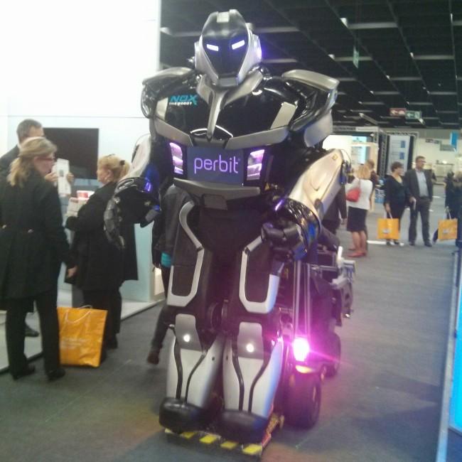 Roboter als Personal von morgen? (Image: Anja C. Wagner)