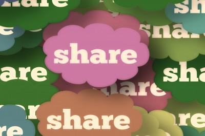 Share (image by geralt [CC0 Public Domain] via Pixabay)