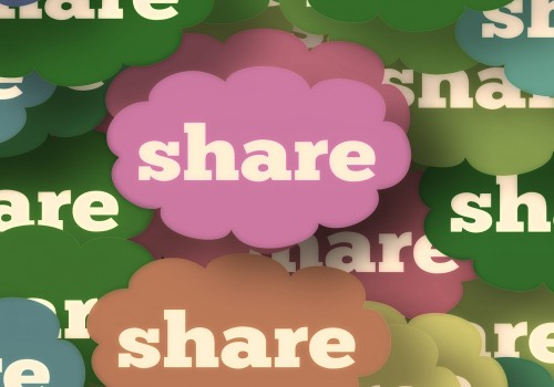 Share (image by geralt [CC0 Public Domain] via Pixabay)