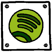 Spotify icon (Image by Jurgen Appelo (CC BY 2.0)) via Flickr