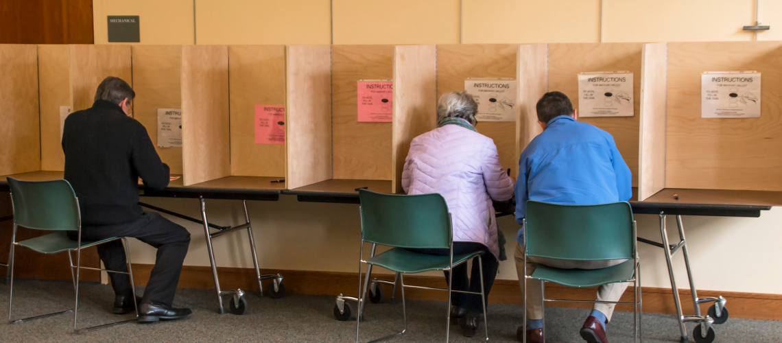 Voting 3 (adapted) (Image by liz west [CC BY 2.0] via Flickr)