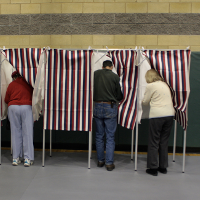 Voting (Image by  Jared and Corin [CC BY-SA 2.0] via Flickr)