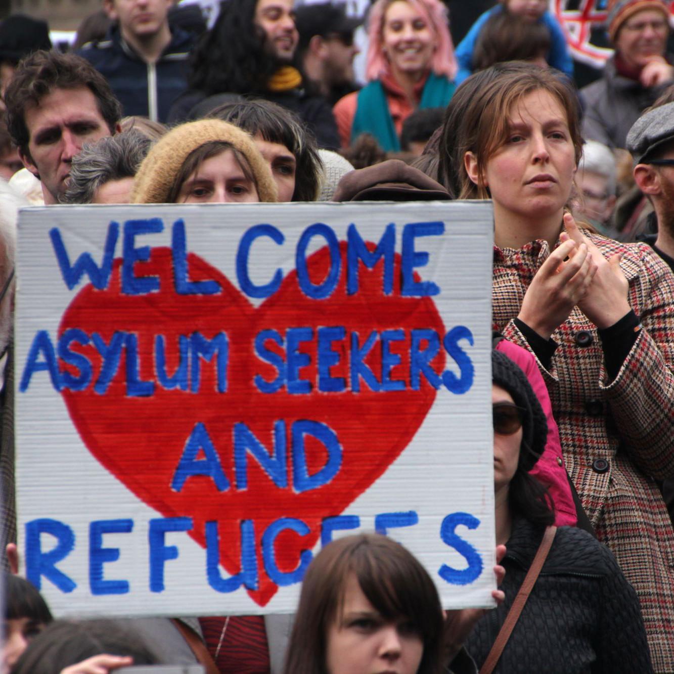 hilfe flüchtlinge dresden