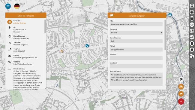 Dresdner App für Flüchtlinge: afeefa – alle für einen und einer für alle