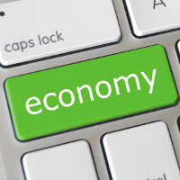 """Economy"" (adapted) by GotCredit (CC BY 2.0)"