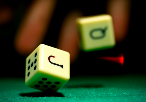 Dice (adapted) (Image by Daniel Dionne [CC BY-SA 2.0] via Flickr)