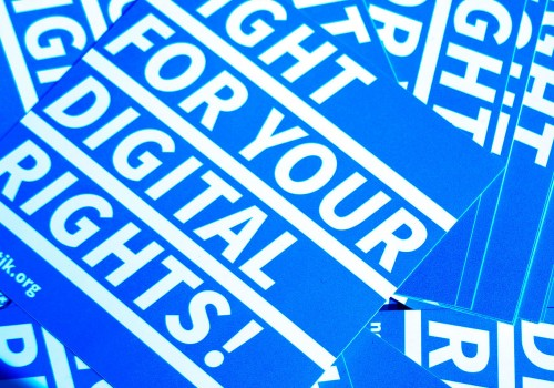 Fight For Your Digital Rights (Image by Sebaso [CC BY-SA 4.0], via Wikimedia Commons)