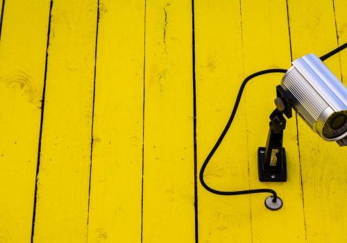 Yellow Watcher (adapted) (Image by Alexander Svensson [CC BY 2.0] via Flickr)