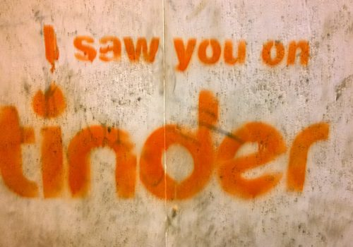 i saw you on tinder Trastevere 2014 (adapted) (Image by Denis Bocquet [CC BY-SA 2.0] via Flickr)