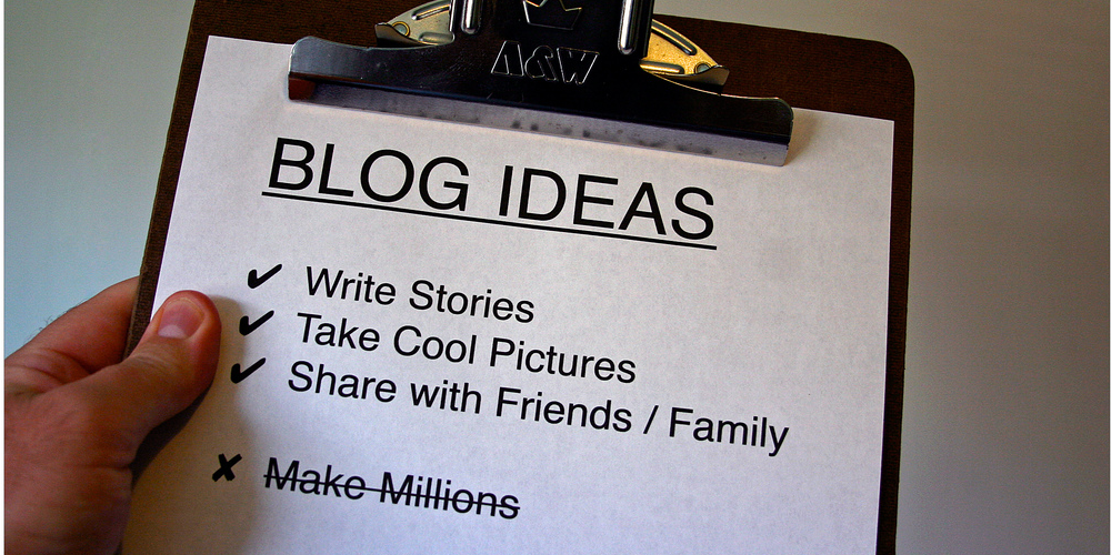BLOG IDEAS (adapted) (Image by Owen W Brown [CC BY 2.0] via Flickr)