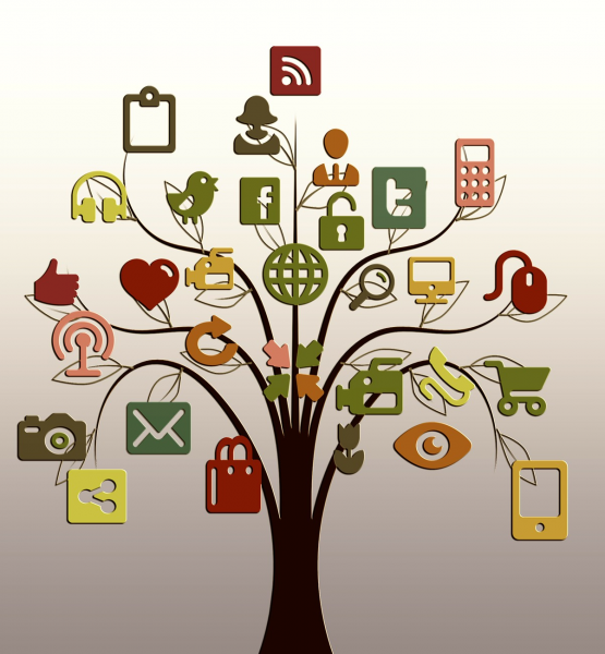 Baum (adapted) (Image by geralt [CC0 Public Domain] via Pixabay)