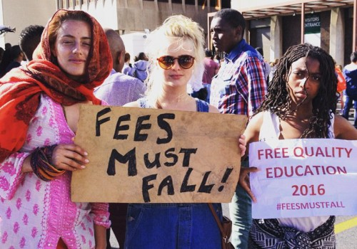 Fees must fall (Screenshot by Leanne Brady via Instagram)