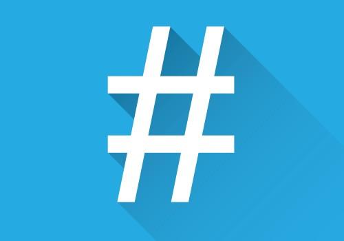 Hashtag(Image by irfanahmad1989(CC0) via Pixabay)