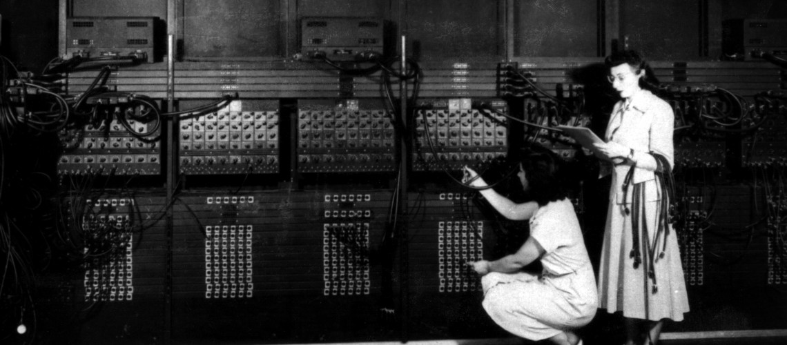 Historic Computer (image by U.S. Army Photo [CC0 Public Domain])