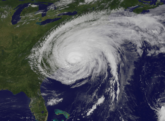 Hurricane Irene Makes Landfall in North Carolina (Image by NASA Goddard Space Flight Center [CC BY 2.0] via Flickr)