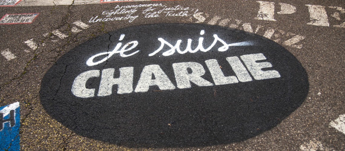 """Je suis Charlie"" (Image by thierry ehrmann (CC BY 2.0)via Flickr)"