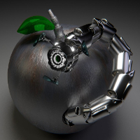 Roboter-Wurm (Image by 849356 CC0) via Pixabay)small