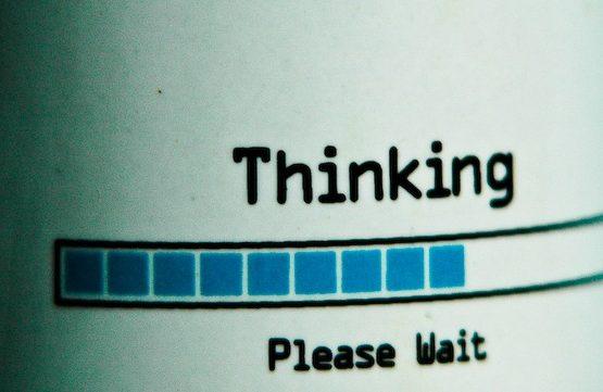 Thinking (adapted) (Image by Wade M [CC BY-SA 2.0] via flickr)