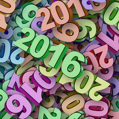 Year 2016 (Image by Pete Linforth [CC0 Public Domain], via Pixabay)