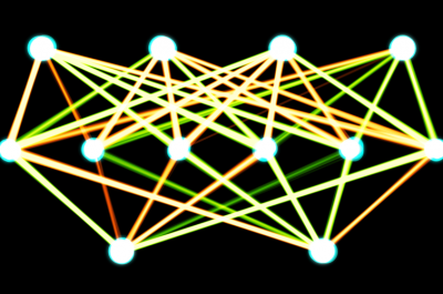 artificial neural network (Image Akritasa (CC BY-SA 4.0) via Wikimedia Commons)