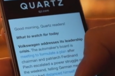 Quartz Screenshot (Image: Quartz)