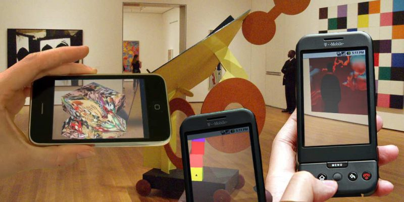 DIY Augmented Reality, MoMA NY (adapted) (Image by sndrv [CC BY 2.0] via Flickr)