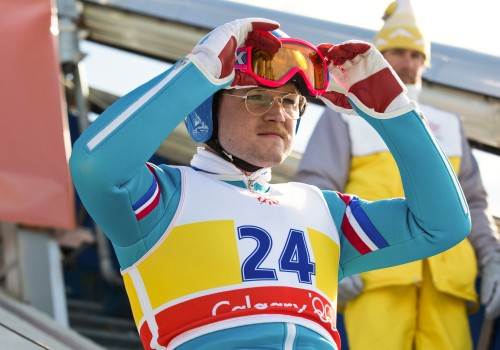 Eddie The Eagle (image by unruly)